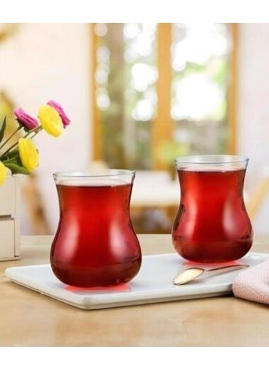 Paşabahçe Semaver Çay Bardak - 6 Lı Çay Bardağı 285Cc 42801 Renkli